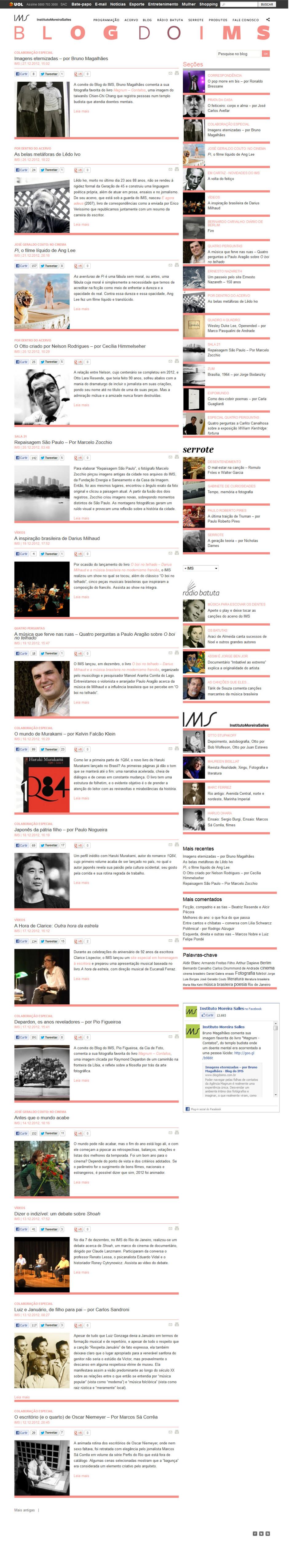 Blog do IMS