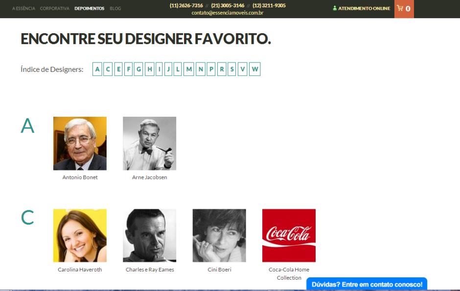 Designers Essência