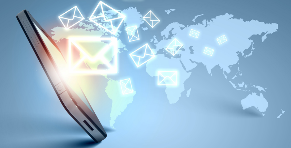 Construção lista de e-mail